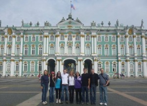 Leimkuehler family in Russia.