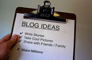 Find your blog ideas and make them stand out. Photo credit: OwenBrown.com