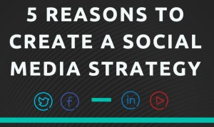 5 Reasons to Create a Social Media Strategy