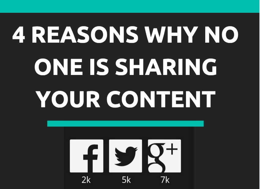 why no one shares your content