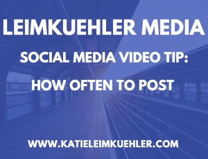 social media video tip posting